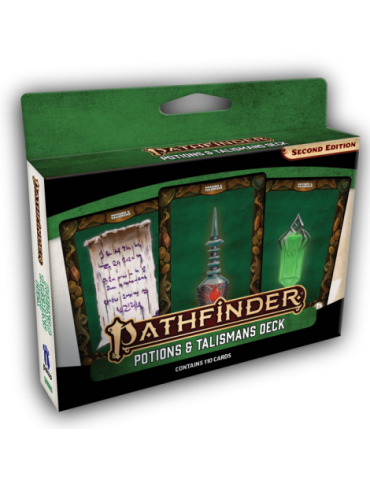 Pathfinder Potions and Talismans Deck