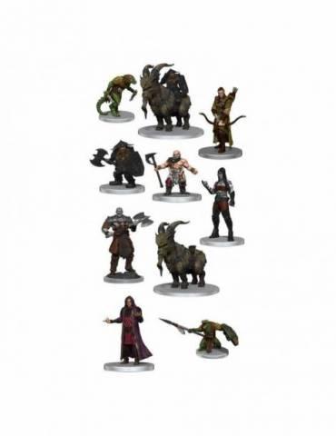 Pack de 10 Miniaturas Critical Role: Characters of Tal'Dorei