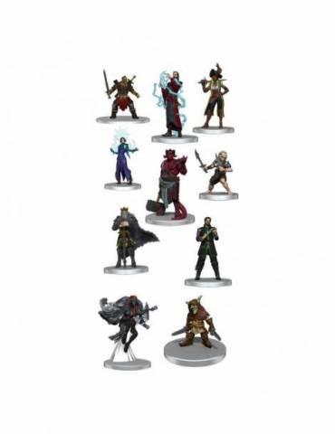 Pack de 10 Miniaturas Critical Role: NPCs of Exandria