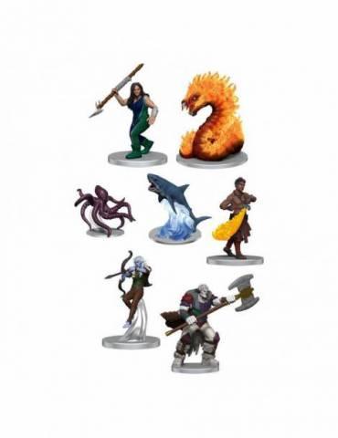 Pack de 7 Miniaturas Critical Role: NPCs of Tal'Dorei