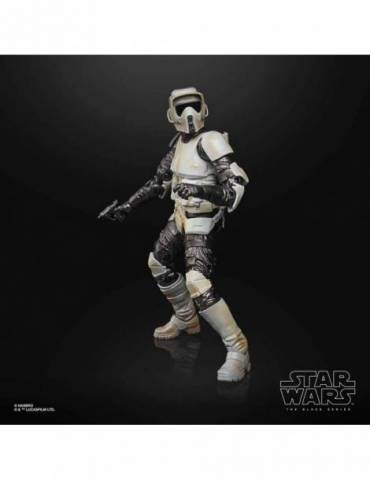 Figura Star Wars Black Series: Scout Trooper Carbonized