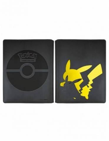 Álbum de 9 Bolsillos Ultra Pro: Elite Series Pikachu Pokémon (Para 180 Cartas)