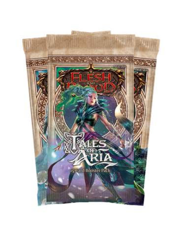 Flesh and Blood: Tales of Aria First Edition (Sobre de 15 cartas)