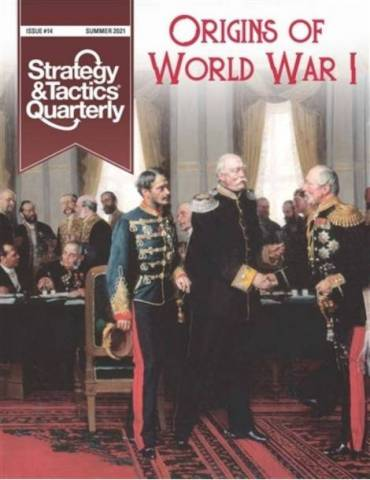 Strategy & Tactics Quarterly 14: Origins of World War I with Map Poster