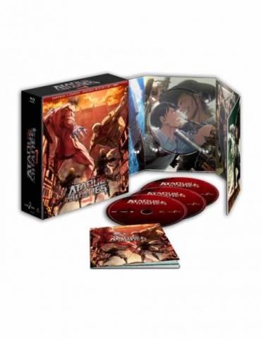 Ataque a los Titanes Temporada 3 Completa (Blu-Ray)
