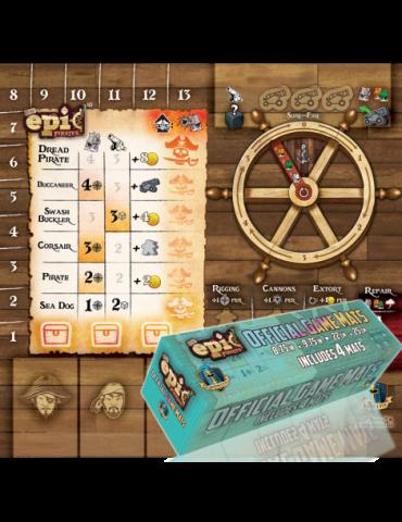 Tiny Epic Pirates: Player Mat Sets