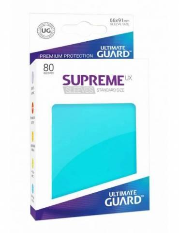 Fundas Ultimate Guard Supreme UX Color Aguamarina (80 unidades)