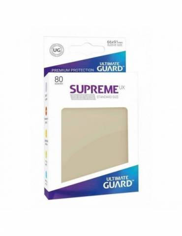 Fundas Ultimate Guard Supreme UX Color Beige (80 unidades)