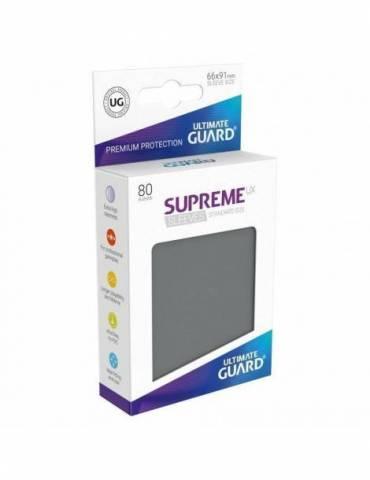 Fundas Ultimate Guard Supreme UX Color Gris Oscuro (80 unidades)
