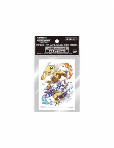 Fundas Digimon: Agumon and Gabumon (60 unidades)