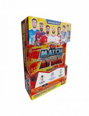 UCL Match Attax 2021-2022 Mega Lata: Lava