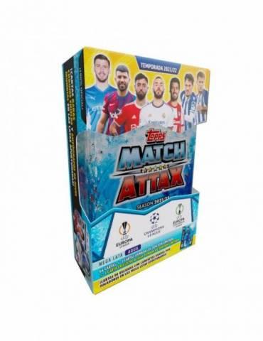 UCL Match Attax 2021-2022 Mega Lata: Aqua