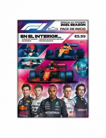 F1 Cromos 2021 Packs de Inicio