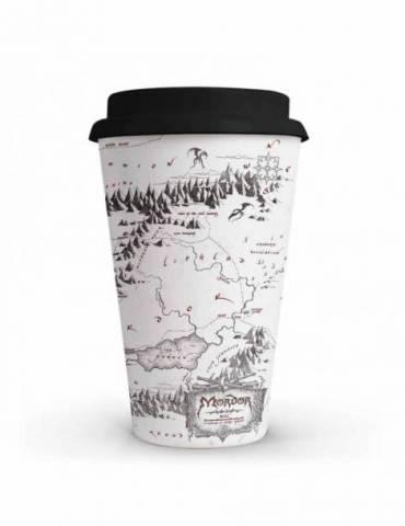 Vaso Cafe El Señor de los Anillos: Mapa Mordor