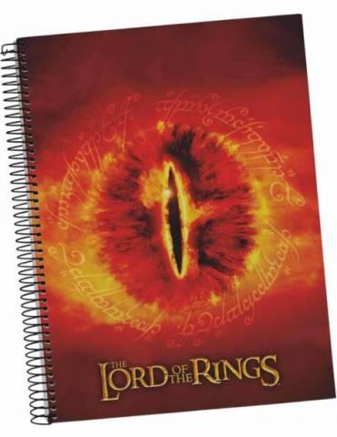 Libreta Espiral El Señor de los Anillos: Ojo Sauron
