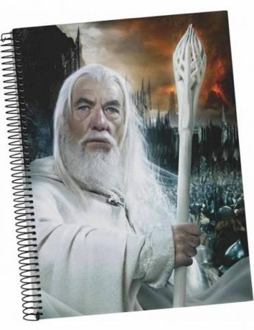 Libreta Espiral El Señor de los Anillos: Gandalf