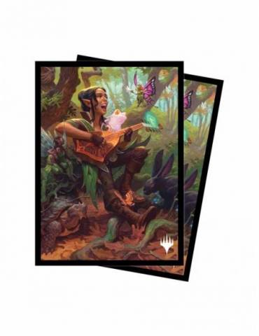 Fundas Ultra Pro Dungeons & Dragons: Adventures in the Forgotten Realms V5 - Ellywick Tumblestrum