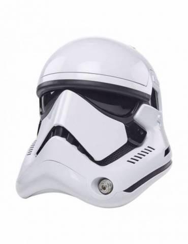 Casco Electrónico Star Wars Episode VIII Black Series: First Order Stormtrooper