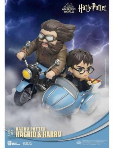 Diorama Harry Potter D-Stage: Hagrid & Harry Standard Version 15 cm
