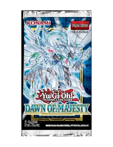 Yu-Gi-Oh! Dawn of Majesty: Sobre de cartas