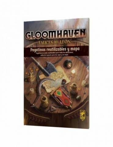 Gloomhaven Fauces del león: Pegatinas reutilizables