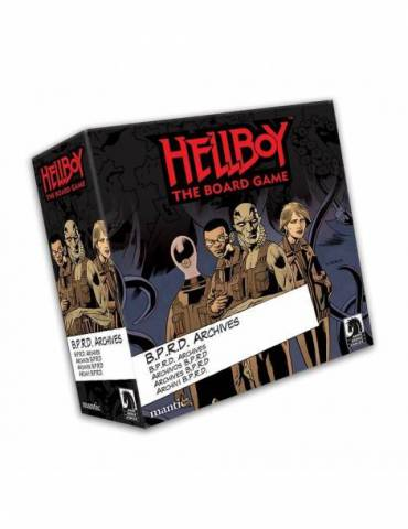 Hellboy: The Board Game - BPRD Archives Expansion