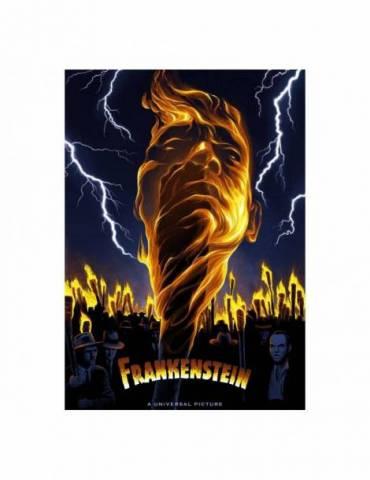 Litografía Universal Monsters: Frankenstein Limited Edition 42 x 30 cm