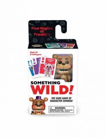 Caja de 4 Juegos de Cartas Five Nights At Freddy's: Something Wild! Rockstar Freddy