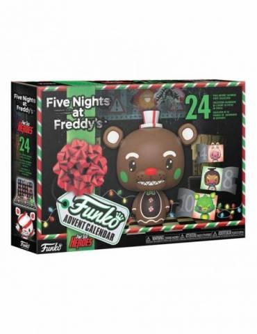 Calendario de Adviento Pocket POP! Five Nights at Freddy's - Blacklight