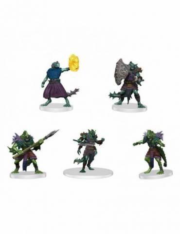 Pack de 5 Miniaturas D&D Icons of the Realms: Sahuagin Warband