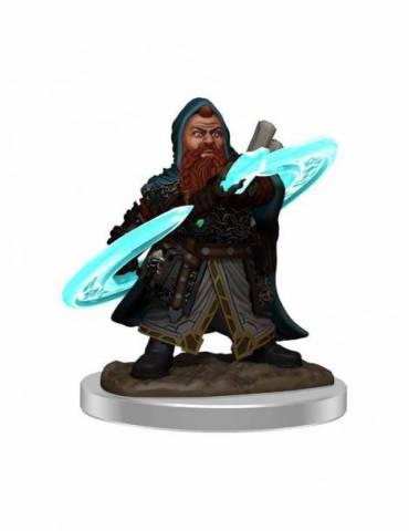 Pathfinder Battles Miniatura Premium pre pintado: Male Dwarf Sorcerer