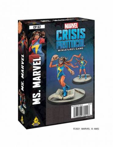 Marvel Crisis Protocol: Ms. Marvel (Inglés)