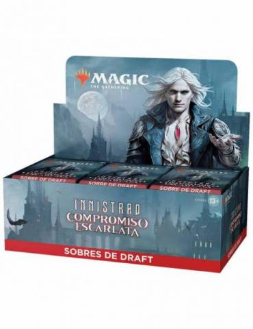 Magic Innistrad: Compromiso Escarlata - Caja de 36 Sobres de Draft (Castellano)