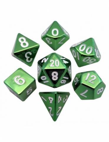 Set de dados Metal Green 16mm (7)