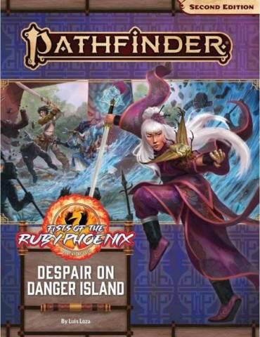 Pathfinder Adventure Path 166: Despair on Danger Island (Fists of the Ruby Phoenix 1 of 3) (Inglés)