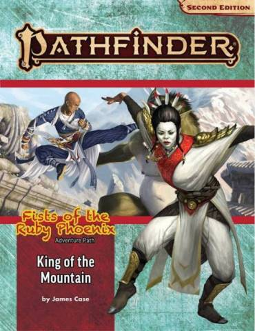 Pathfinder Adventure Path 168: King of the Mountain (Fists of the Ruby Phoenix 3 of 3) (Inglés)