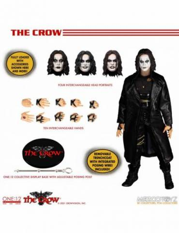 Figura The Crow The One:12 Collective The Crow 17 cm