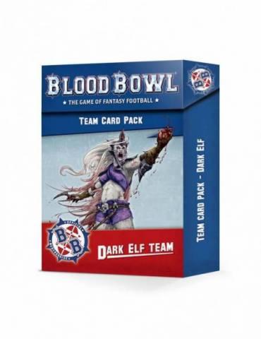 Blood Bowl Dark Elf Team Card Pack (Inglés)