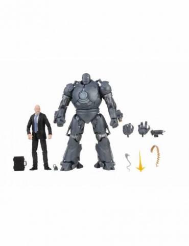 Obadiah Stane And Iron Monger Figuras 15 Cm The Infinity Saga Marvel Legends F02185l0