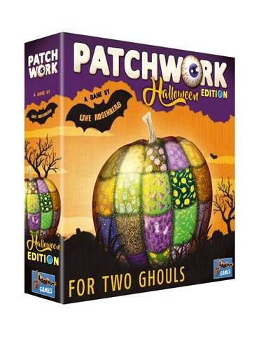Patchwork Halloween (Inglés)