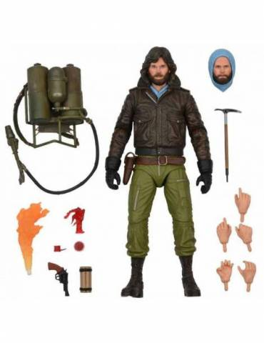 Figura The Thing Scale Action Figure Ultimate Macready Ver 2  18 cm