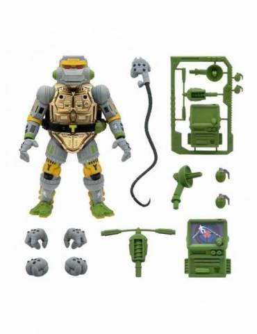 Tortugas Ninja Figura Ultimates Metalhead 18 Cm