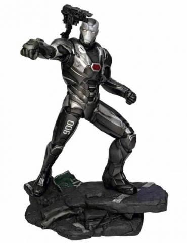 War Machine Pvc Diorama Marvel Movie Gallery Avengers: Endgame