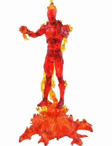 Human Torch (antorcha Humana) Figura 18 Cm Action Figure Marvel Select