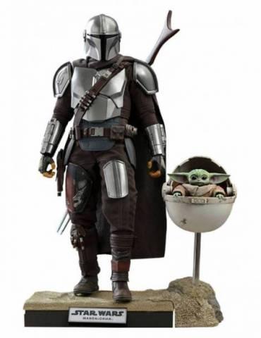 Star Wars The Mandalorian Pack De 2 Figuras 1/6 The Mandalorian & The Child Deluxe 30 Cm