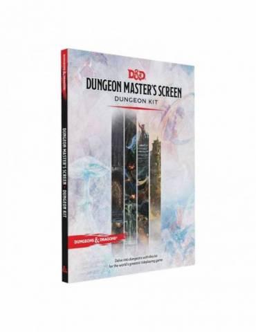 Dungeons & Dragons Rpg Dungeon Master's Screen: Dungeon Kit Inglés
