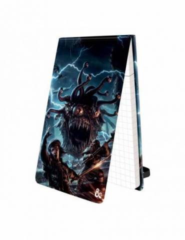 Bloc de notas Dungeons & Dragons: Pad of Perception with Beholder Art for Dungeons & Dragons