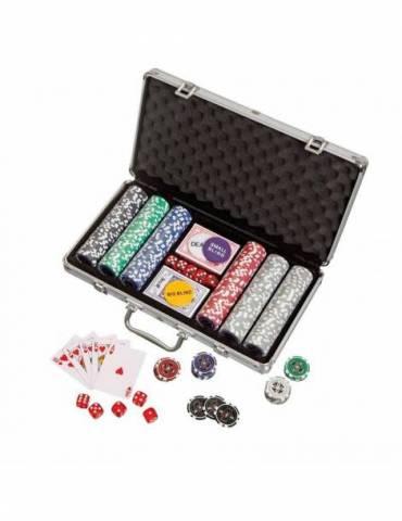 Maleta Póker 300 chips
