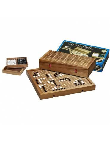 Juego GO en estuche de madera