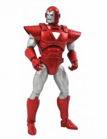 Silver Centurion Iron Man Figura Marvel Select Action Figure